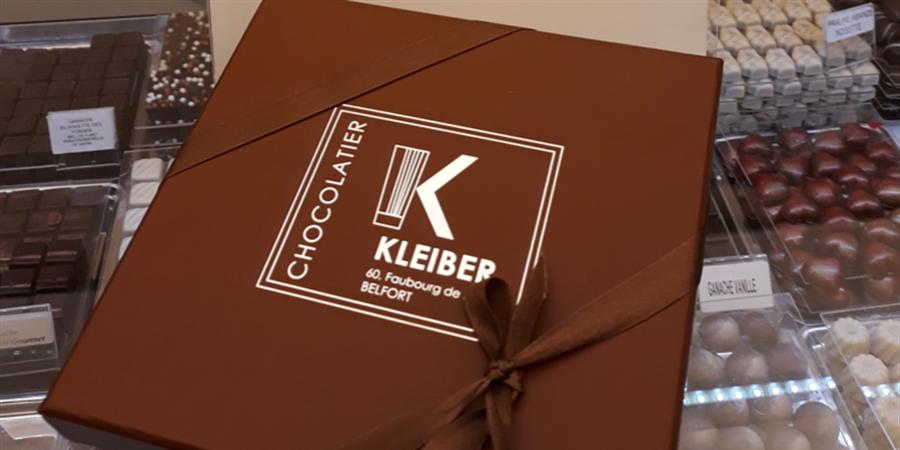 Chocolats pour Pâques du Chocolatier KLEIBER (Belfort) - Traces Communes