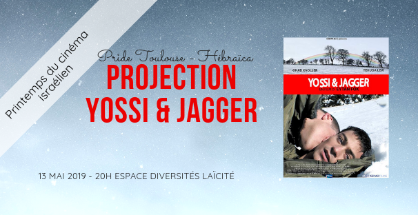Projection Yossi & Jagger - Pride Toulouse
