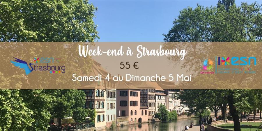 Week-end à Strasbourg - ESN InsiDijon