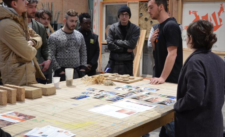 Ateliers d'initiation à la construction en terre crue - S.E.E.D. (Solidarity, Equity, Empowerment and Development)