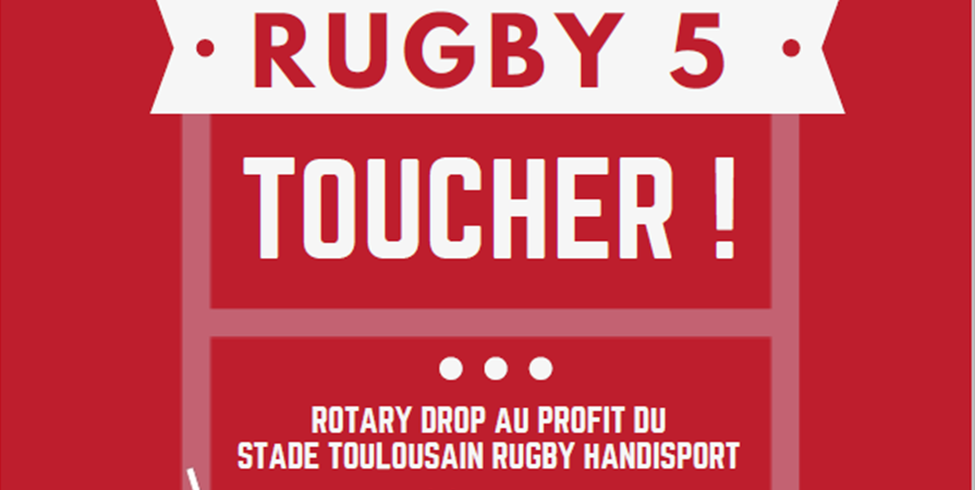 Rotary Drop - Tournoi de Rugby Toucher Solidaire - R.Drop