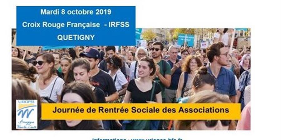 Journée de Rentrée Sociale des Associations de Solidarité - URIOPSS BFC