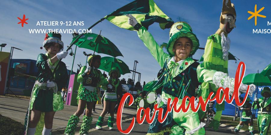 Atelier Carnaval - Association ThéâViDa
