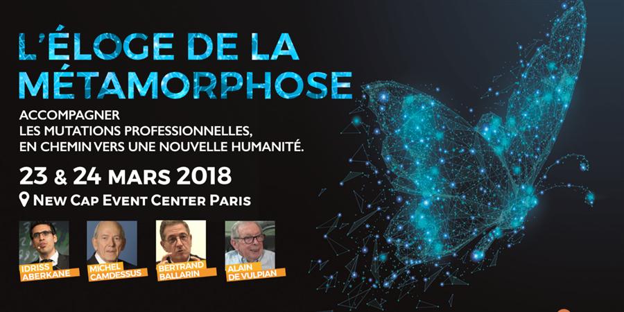 Colloque EMCC France 2018 avec le Sycfi - Eloge de la métamorphose  - EMCC France