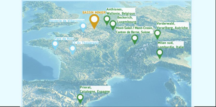Rencontres européennes 2018 Territoires de l'après-pétrole : l'atout du paysage - Collectif Paysages de l'après-pétrole