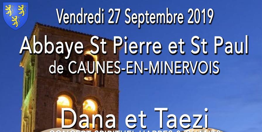 Concert harpe et chant avec DANA (the voice ) & TAEZI - Nashuar terre vivante