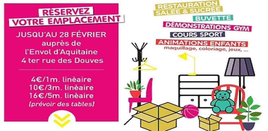 Vide-grenier-2020 - Envol d'Aquitaine