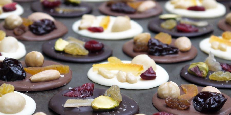 Les mignardises au chocolat bio - SAVEURS ET SAVOIRS