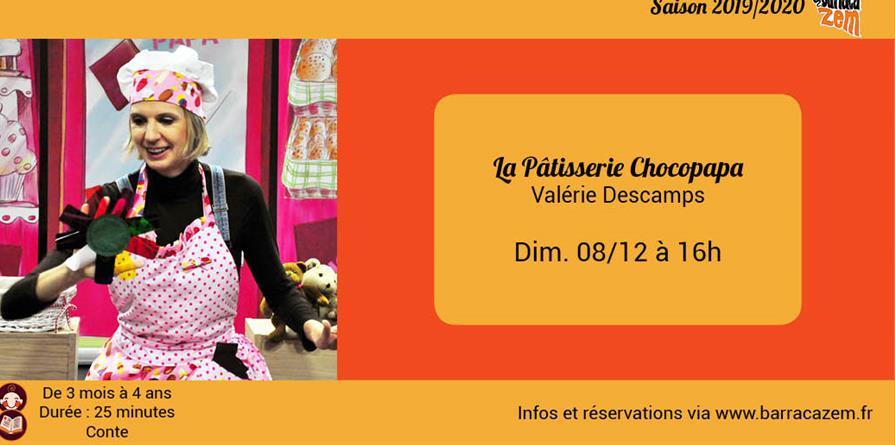 Dim. 17h - La Pâtisserie Chocopapa - Valérie Descamps - Brasil Afro Funk