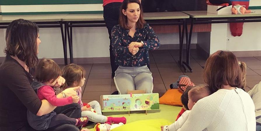 Bébés Signeurs : 14 septembre 2019 - L'Atelier des Familles