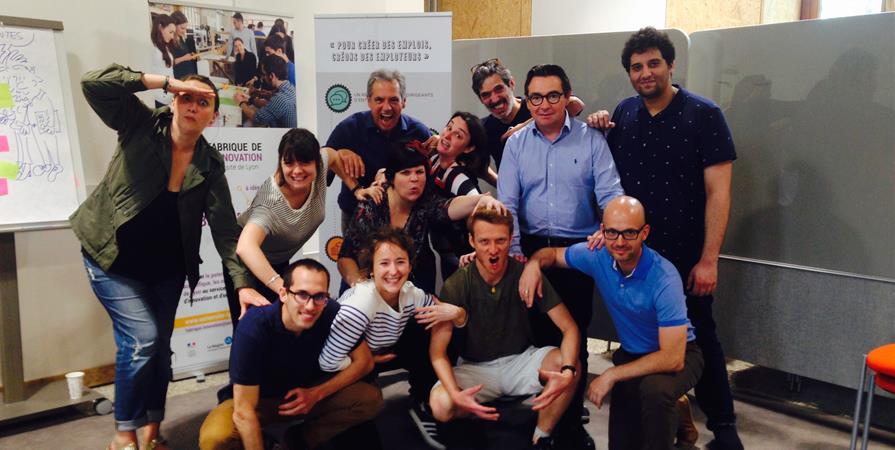 Participation à l'atelier de cuisine - Club Dômes de Miage - Réseau Entreprendre Rhône
