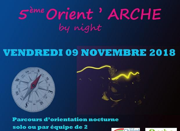 5 ème Orient'Arche by night - Section Raid-multisports amicales des C.I. du Mans