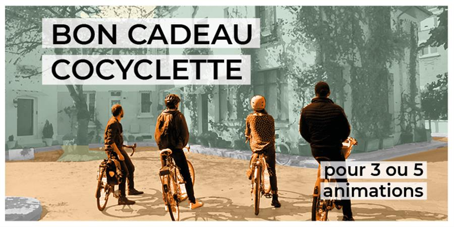 CARTES CADEAUX COCYCLETTE - Cocyclette