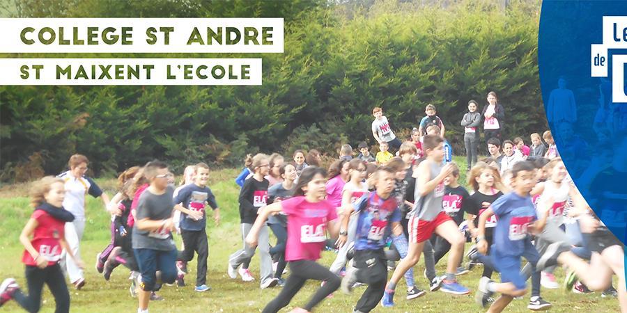 COURSE SOLIDAIRE - COLLÈGE ST ANDRÉ - ST MAIXENT L'ÉCOLE - Fondation Natan