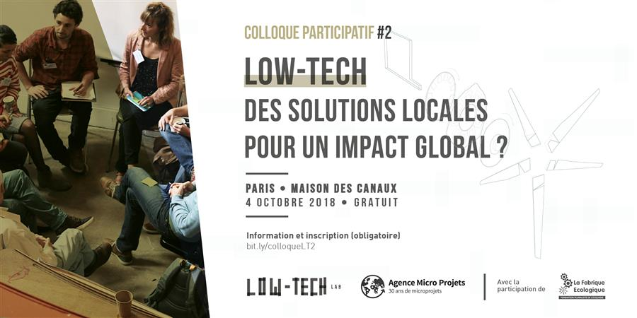 Colloque Low-tech #2 - Gold of Bengal