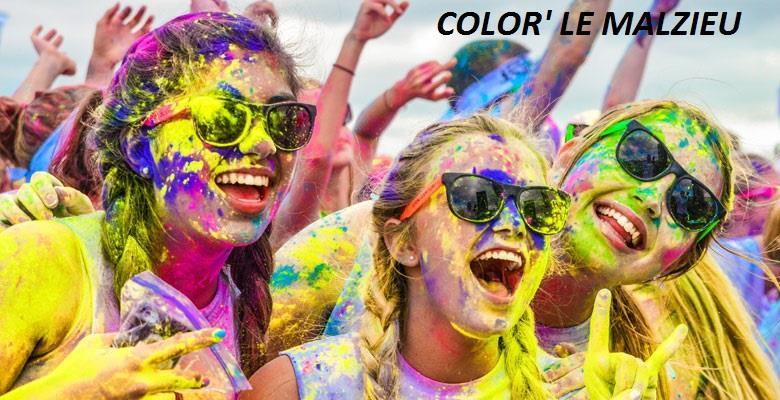 Color Run Le Malzieu  - Association Sportive Le Malzieu