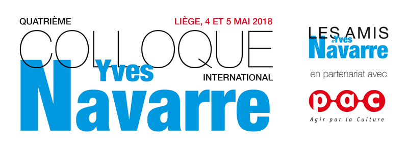 4e colloque international Yves Navarre - Les amis d'Yves Navarre