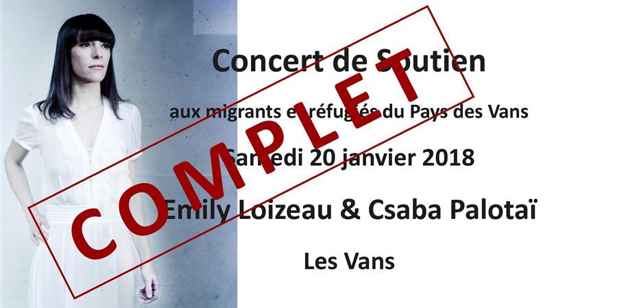 Emily Loizeau & Csaba Palotaï Concert  - Musiques en Tête