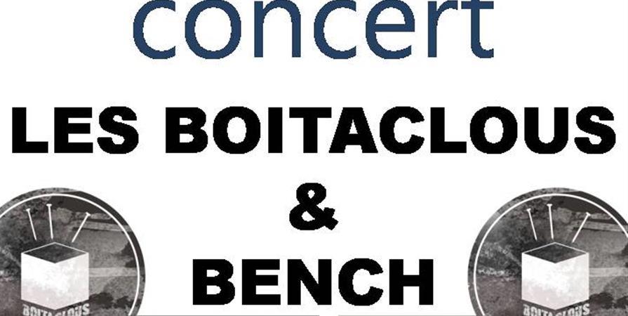 "Soirée Concert ""Les Boitaclous"" et ""Bench"" - Périgord'EVENTING"