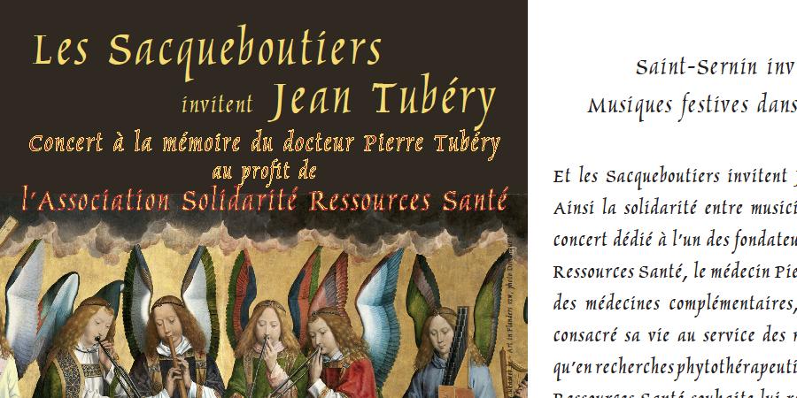 CONCERT TUBERY SACQUEBOUTIERS - Association Solidarité Ressources Santé