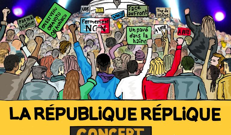 BILLETTERIE SOLIDAIRE - Concert la République réplique !  - SOS Racisme