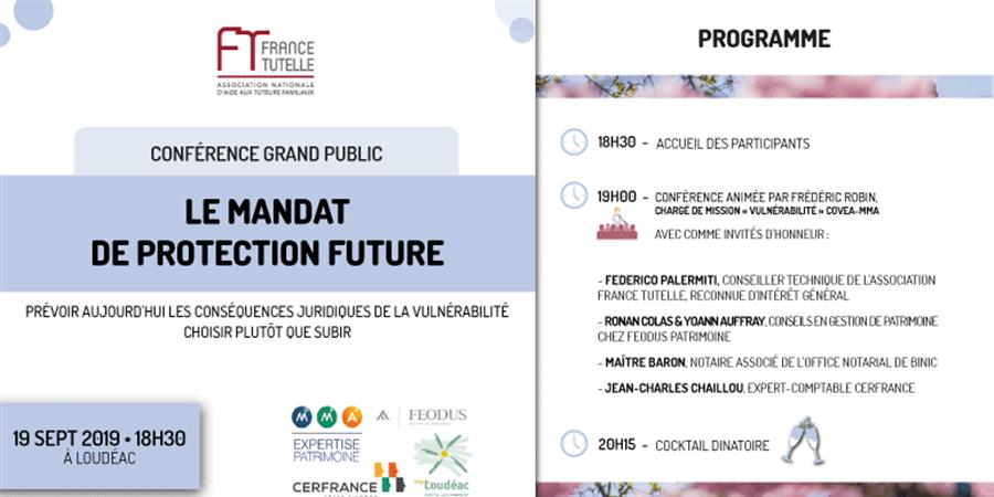 Conférence sur le Mandat de Protection Future - 2 - FRANCE TUTELLE