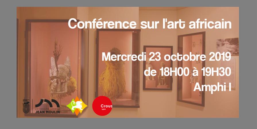 Conférence sur l'art africain - Poli'Gones