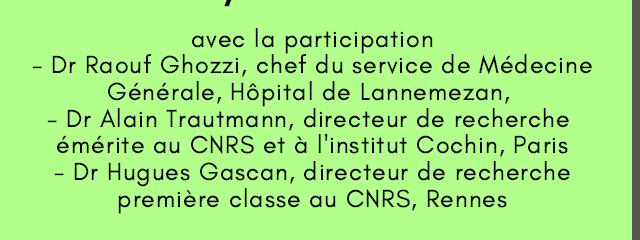 Conférence La Maladie de Lyme - Association France Lyme
