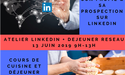 Atelier Linkedin inscription post evenement - SUP Entrepreneurs