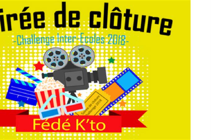 Soirée de clôture - Challenge Inter Ecoles 2018 - Fédé k'to
