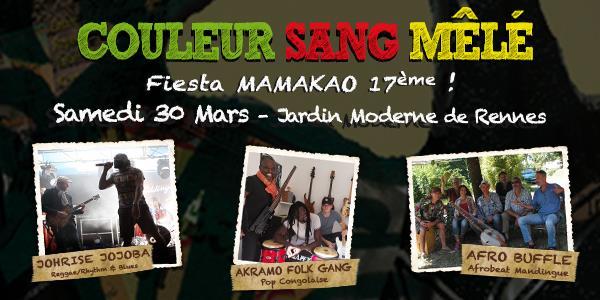 Soirée Couleur Sang Mêlé 2019 - Association Mamakao