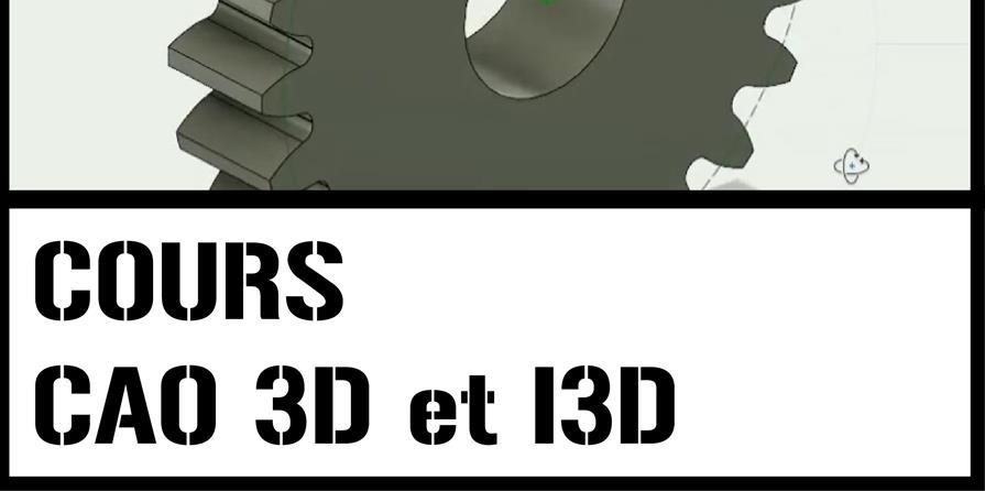 Cours modélisation 3D et impression 3D - FabLab de Château-Thierry