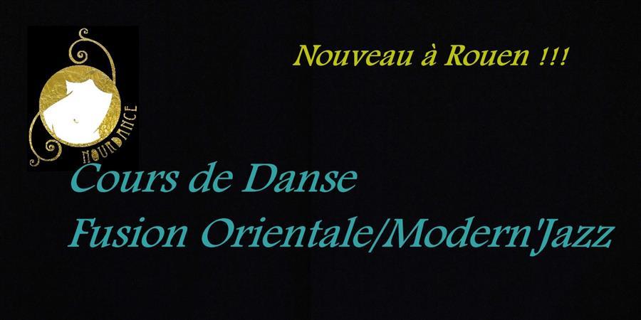 Cours Danse Fusion Orientale/Modern'Jazz  à l'Espace Instinct, Rouen - Nourdance Compagnie/Association