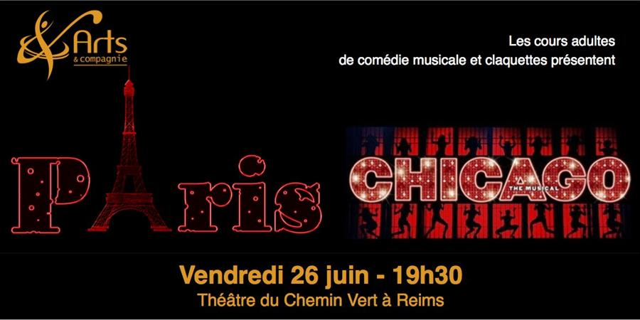 Paris - Chicago / Spectacle adulte  - Arts et compagnie