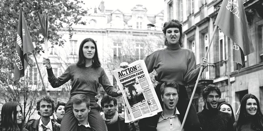 Calendrier JEBA 2018 : les 50 ans de mai 68 - Jeunes Écologistes Bordeaux-Aquitaine