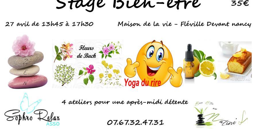 Stage Bien-être - Sophro-Relax asso
