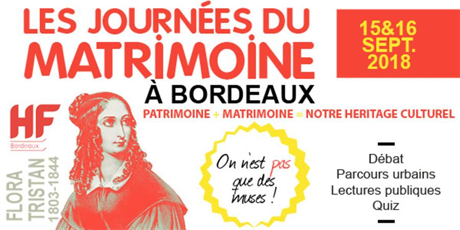 Parcours Matrimoine historique et artistique - HF Bordeaux