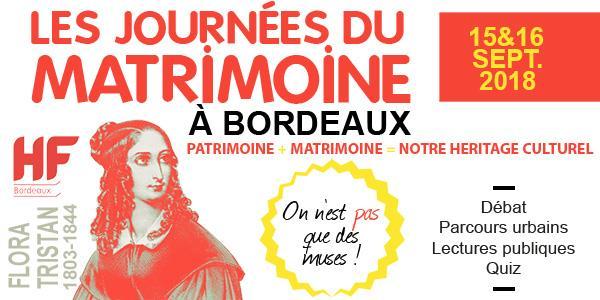 Parcours Matrimoine de caractère et littéraire - HF Bordeaux