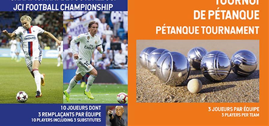 Tournoi de foot ou pétanque - Jeune Chambre Economique de Lyon