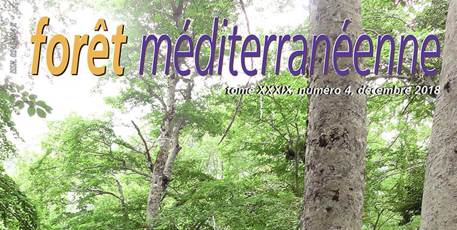 """N° spécial """"40 ans de forêt méditerranéenne"""" - Forêt Méditerranéenne"""