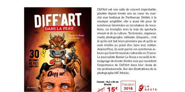 """Commande du livre """"Diff'art dans la peau : 30 histoires de vies amplifiées"""" - Diff'Art"""