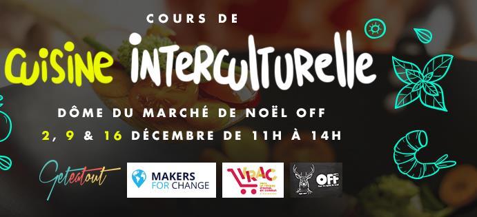 Cours de cuisine interculturelle #2 - Makers For Change