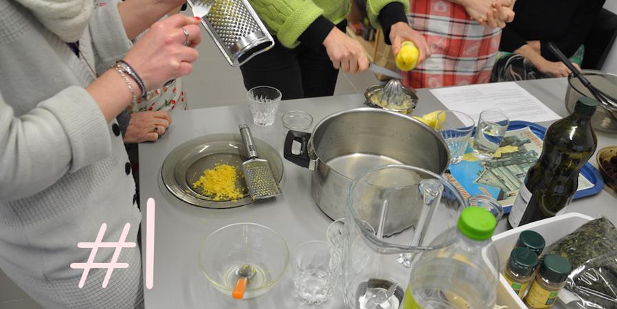 Atelier cuisine végétarienne #1 - Ecos