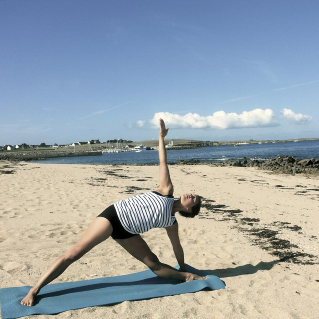 Yoga - Julie Portanguen et l'association L'éveil et l'envol