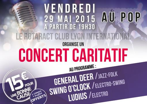 CONCERT CARITATIF - Rotaract Lyon International
