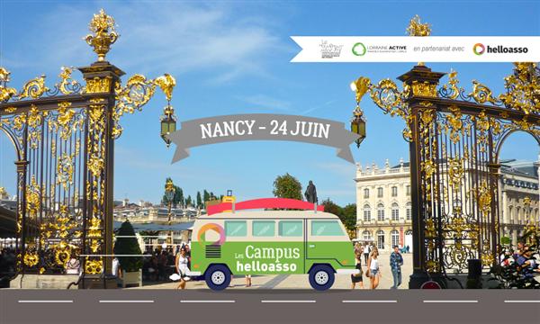 Campus HelloAsso de Nancy - Campus HelloAsso