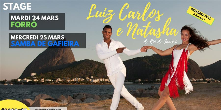 Stage Printemps 2020 ⭐ Brasil No Pé ⭐ Forró & Samba de Gafieira - Brasil No Pé