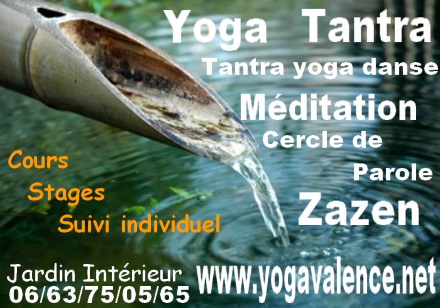 Kundalini Yoga - Association Jardin Intérieur- yoga /tantra