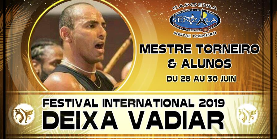 "Festival ""DEIXA VADIAR 2019"" - Capoeira Senzala Essonne"