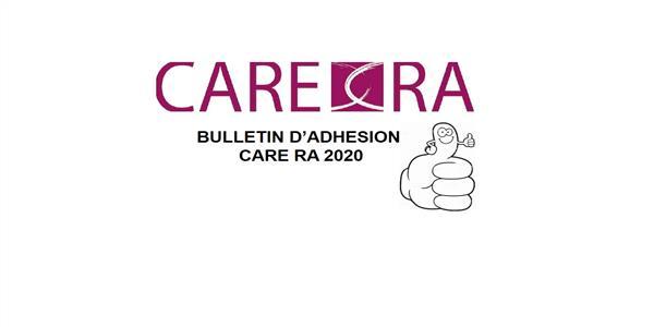 ADHESION CARE RA 2020 - Club Affaires Réseau Entreprises Rhône-Alpes
